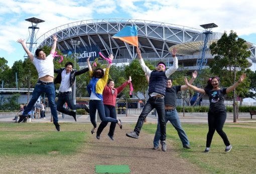 Amazing Races in Sydney Olympic Park for ultimate fun team building activities thrill
