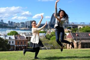 Leaping Ladies Rocks Sydney