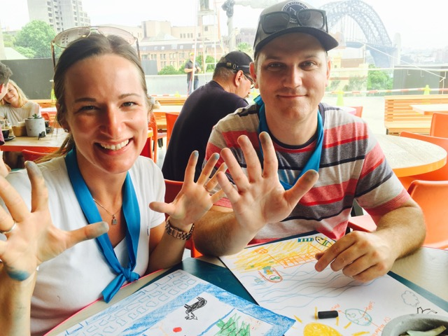 team building amazing race sydney