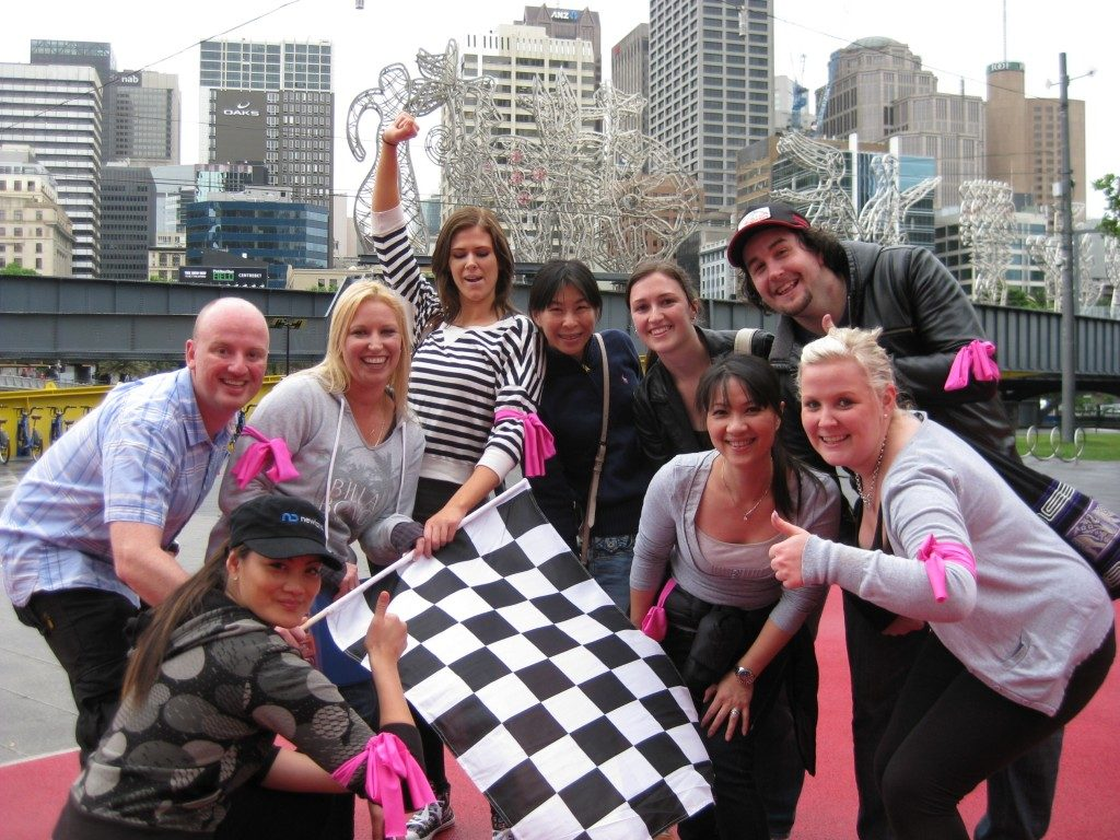 Amazing Race Team Building Melbourne