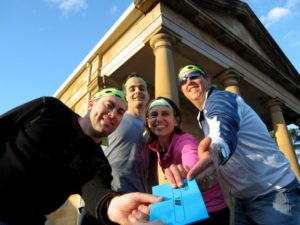 Bowral to Berrima Amazing race in the Southern Highlands corporate conference event for groups winning