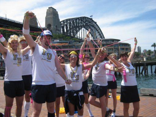 Amazing Race Challenge escape the Rocks, Sydney