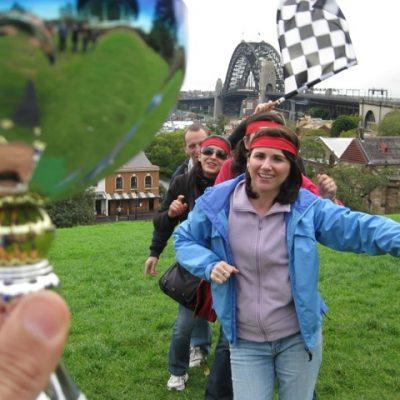 Sydney Amazing Race team Building Corprate Group Start The Rocks