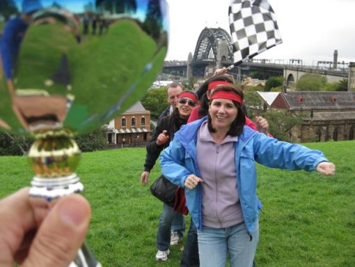 Sydney Amazing Race team Building Corprate Group Start The Rocks