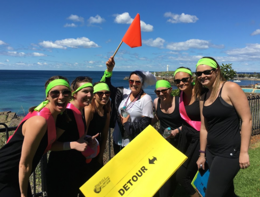 Wollongong-amazing-race activities and events for groups in The Gong at Novotel