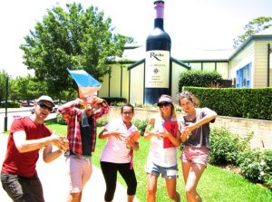 Hunter Valley Team Building Amazing Races for corporate activities exceptional fun wine games and events