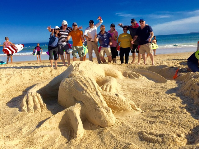 Team-building-crocodile-beach