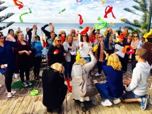 Christmas party celebration activities for corporate group events and entertainment in sydney