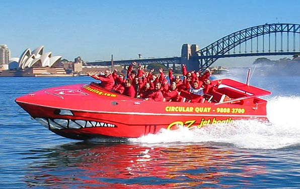 Sydney-thrill-jet-boating