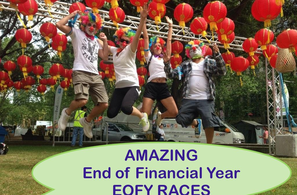 End of Financial Year Amazing Team Building Activities