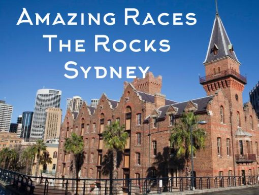 Sydney The Rocks Amazing Races to explore secrets, pubs and great activities with team building challenges to accomplish