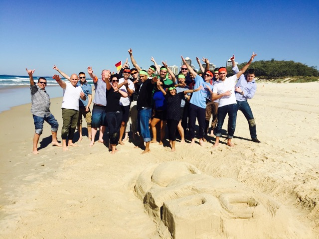 Amazing-beach-team-building