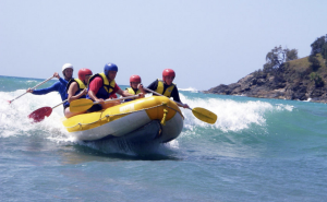 Coffs-harbour-team-building-amazing-surf-rafting