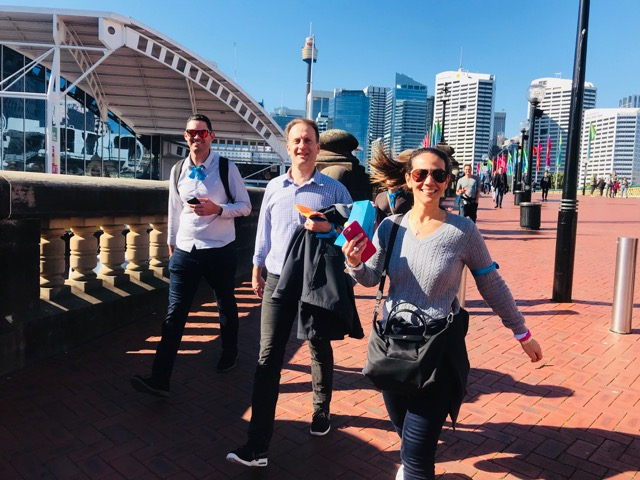 Amazing-Race-Darling-Harbour-Activities and Events for groups to enjoy Sydney on Foot or by Water Taxi