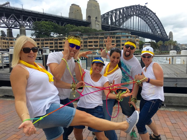 Amazing Sydney Race with the Best Team Building with a Merry 10% Christmas Work Party Discount